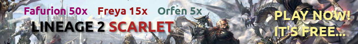 Lineage 2 Scarlet private server. Free To Play!
